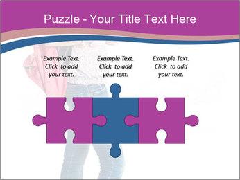 Female student PowerPoint Template - Slide 42