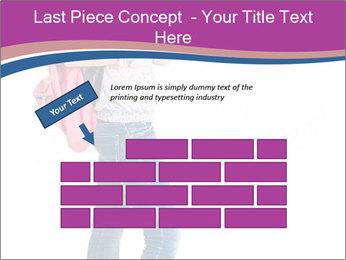 Female student PowerPoint Template - Slide 46
