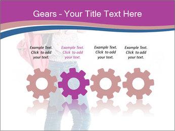Female student PowerPoint Template - Slide 48
