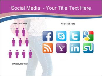 Female student PowerPoint Template - Slide 5