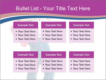Female student PowerPoint Template - Slide 56