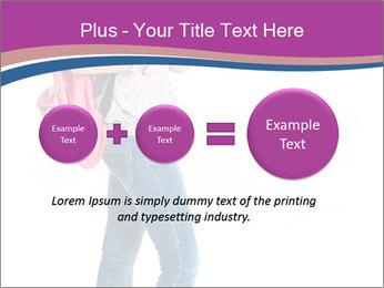 Female student PowerPoint Template - Slide 75