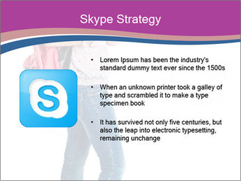 Female student PowerPoint Template - Slide 8