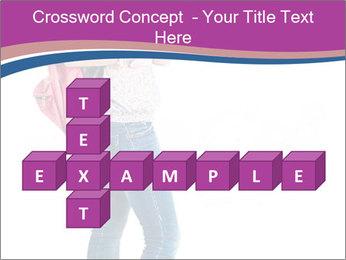 Female student PowerPoint Template - Slide 82