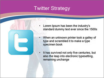 Female student PowerPoint Template - Slide 9