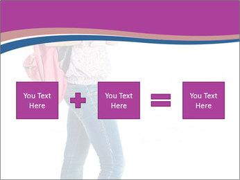 Female student PowerPoint Template - Slide 95