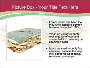 Old folder PowerPoint Template - Slide 13