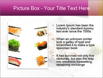 Sushi PowerPoint Templates - Slide 13