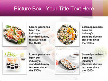 Sushi PowerPoint Templates - Slide 14