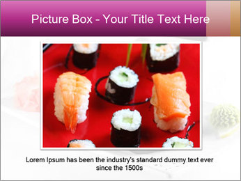 Sushi PowerPoint Templates - Slide 16