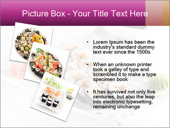 Sushi PowerPoint Templates - Slide 17