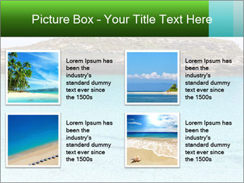 Crystalline water PowerPoint Templates - Slide 14