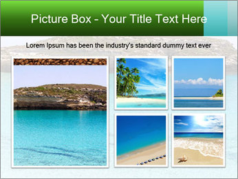 Crystalline water PowerPoint Templates - Slide 19