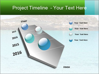 Crystalline water PowerPoint Templates - Slide 26