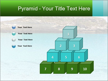 Crystalline water PowerPoint Templates - Slide 31