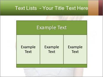 Femal PowerPoint Template - Slide 59
