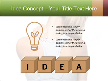 Femal PowerPoint Template - Slide 80