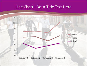 Businesspeople running in city PowerPoint Template - Slide 54