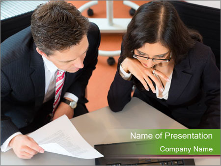 Businesspeople PowerPoint Template