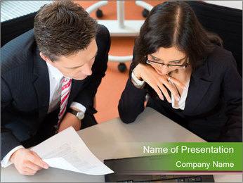 Businesspeople PowerPoint Template - Slide 1