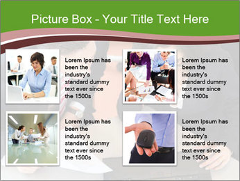 Businesspeople PowerPoint Template - Slide 14