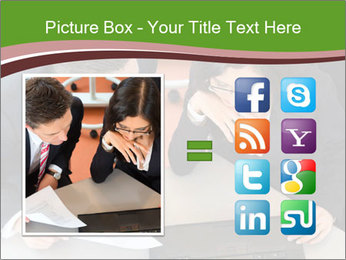 Businesspeople PowerPoint Template - Slide 21