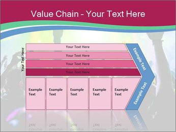 Cheering crowd PowerPoint Template - Slide 27
