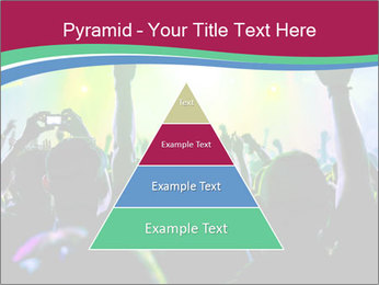 Cheering crowd PowerPoint Template - Slide 30