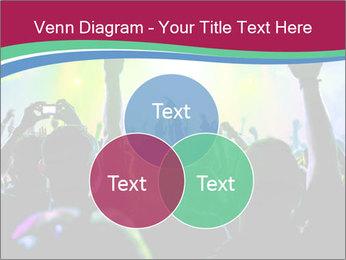 Cheering crowd PowerPoint Template - Slide 33