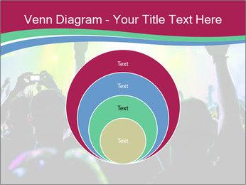 Cheering crowd PowerPoint Template - Slide 34