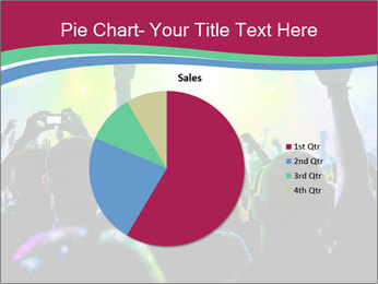 Cheering crowd PowerPoint Template - Slide 36
