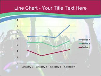 Cheering crowd PowerPoint Template - Slide 54