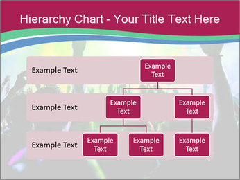 Cheering crowd PowerPoint Template - Slide 67
