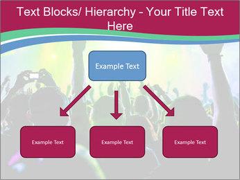Cheering crowd PowerPoint Template - Slide 69