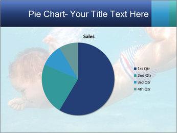 Baby boy dives underwater PowerPoint Template - Slide 36