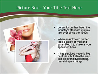 Girl smokes PowerPoint Template - Slide 20
