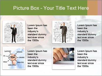Businessman looking documents PowerPoint Templates - Slide 14