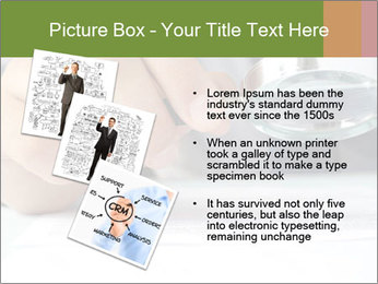 Businessman looking documents PowerPoint Templates - Slide 17