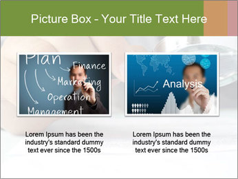 Businessman looking documents PowerPoint Templates - Slide 18