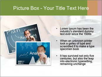 Businessman looking documents PowerPoint Templates - Slide 20
