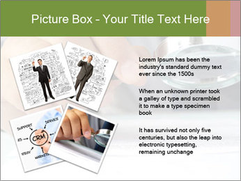 Businessman looking documents PowerPoint Templates - Slide 23