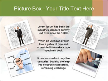Businessman looking documents PowerPoint Templates - Slide 24