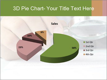 Businessman looking documents PowerPoint Templates - Slide 35