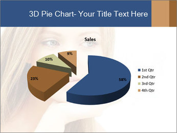 Female face PowerPoint Template - Slide 35