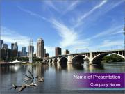 Downtown Minneapolis PowerPoint Templates