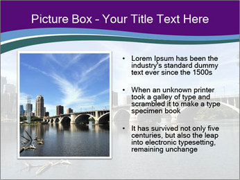 Downtown Minneapolis PowerPoint Template - Slide 13