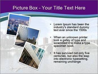 Downtown Minneapolis PowerPoint Template - Slide 17