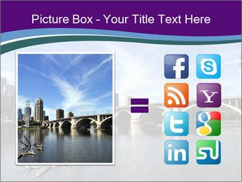 Downtown Minneapolis PowerPoint Template - Slide 21