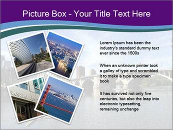 Downtown Minneapolis PowerPoint Template - Slide 23