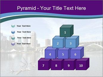 Downtown Minneapolis PowerPoint Template - Slide 31